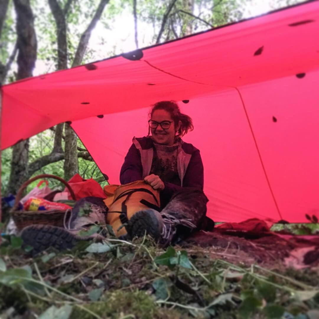 taking risks and wild camping